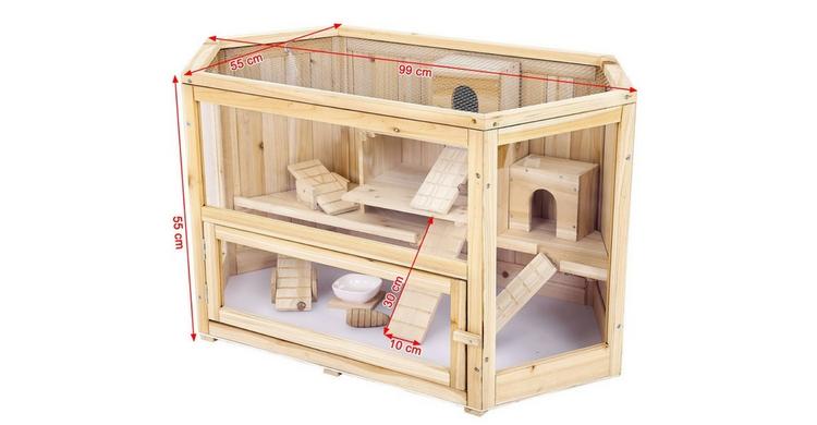 La jaula de madera (Amazon)