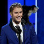 Justin Bieber y su mono capuchino Mally (Gtresonline)