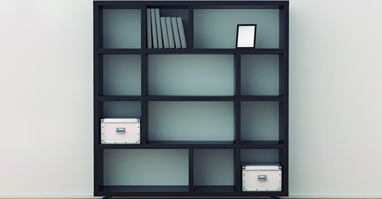 La mayoría de los hogares tienen este tipo de estanterías (iStock)