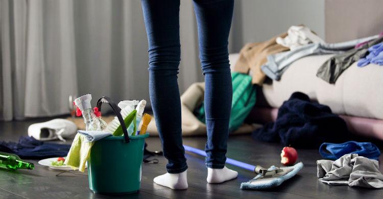 Mantén la casa aseada y limpia por el bien de todos (Foto: iStock)