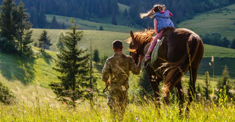 Los caballos ayudan a despertar determinadas funciones neurológicos (Foto: iStock)