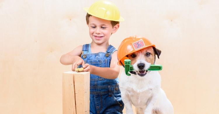 Los perros y los niños son el tándem perfecto (Istock)